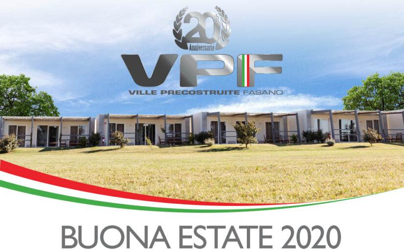 Buona Estate 2020 da VPF Case Mobili! Chiusi dal 10 al 24 Agosto 2020